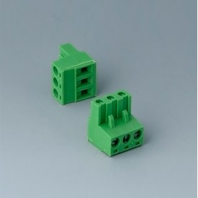 B6600223 / Cabezal de enchufe: bloque 5.08 - PA 68 (UL 94 V-0)