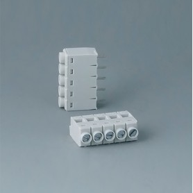 B6601111 / Bloque de terminales: bloque 5.0 - PA 68 (UL 94 V-0)
