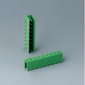 B6602222 / Cabezal de enchufe: bloque 5.08 - PA 6 (UL 94 V-0)