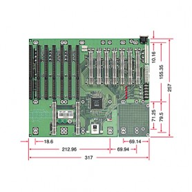 PBP-14A7 / Backplanes PICMG1.0