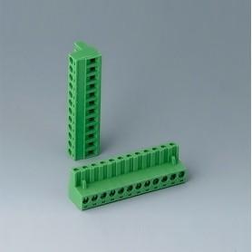 B6603223 / Cabezal de enchufe: bloque 5.08 - PA 6 (UL 94 V-0)