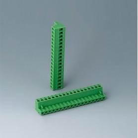 B6604223 / Cabezal de enchufe: bloque 5.08 - PA 68 (UL 94 V-0)