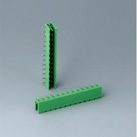 B6605222 / Cabezal de enchufe: bloque 5.08 - PA 6 (UL 94 V-0)