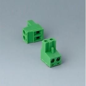 B6606223 / Cabezal de enchufe: bloque 5.08 - PA 6 (UL 94 V-0)