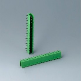 B6607222 / Cabezal de enchufe: bloque 5.08 - PA 6 (UL 94 V-0)