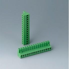 B6607223 / Cabezal de enchufe: bloque 5.08 - PA 6 (UL 94 V-0)
