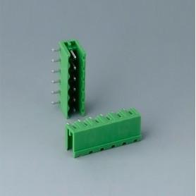 B6608222 / Cabezal de enchufe: bloque 5.08 - PA 68 (UL 94 V-0)