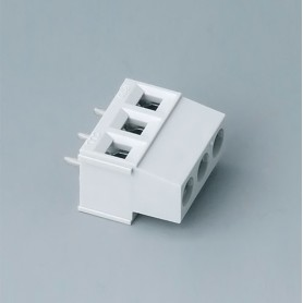 B6800650 / Bloque de terminales: bloque 5.08 - PA 68 (UL 94 V-0) - light grey