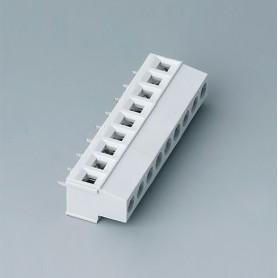 B6802650 / Bloque de terminales: bloque 5.08 - PA 68 (UL 94 V-0) - light grey