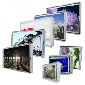 """Dxxx-00x-01 / Open Frame de 5,7"""" a 65"""" (opción pantalla táctil resistiva/capacitiva) - Opcional alta resolución y formato 16/9"""
