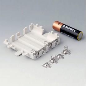 A9345217 / Kit compartimento de batería: 4 x AA - ABS (UL 94 HB) - off-white RAL 9002