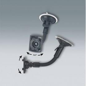 A9220049 / Dispositivo de sujeción: cuello de cisne flexible con ventosa - black - 190x70x70mm
