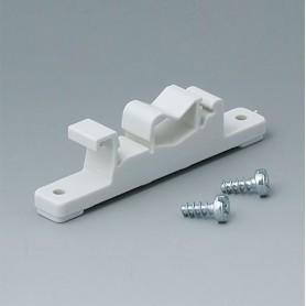 B1300017 / Elemento de fijación para carriles DIN - PA 6 - off-white RAL 9002