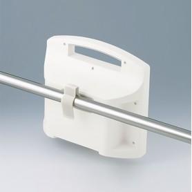 B4308237 / Abrazaderas de sujeción - PA 6 - off-white RAL 9002