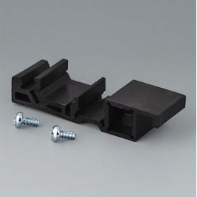 B6811751 / Adaptador de carril DIN - PA 66 (UL 94 V-0) - black RAL 9005