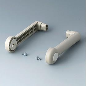 A9300018 / ASA: Kit de brazo lateral - PA 6 - pebble grey RAL 7032