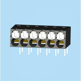 BC0188-01XXL / Screwless PCB terminal block Cage Clamp - 2.50 mm
