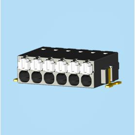 BC0188-01XXSMD / Screwless PCB terminal block Cage Clamp - 2.50 mm