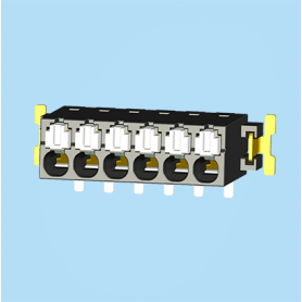 BC0188-02XXSMD / Screwless PCB terminal block Cage Clamp - 2.50 mm