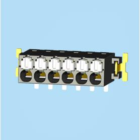 BC0188-02XXSMD / Screwless PCB terminal block Cage Clamp - 2.50 mm