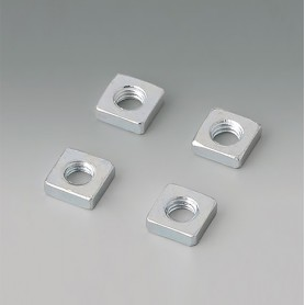 B3500001 / Conjunto de tuercas de cabeza cuadrada M3 - Acero