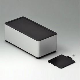 EE186059 / SYNERGY E180 - Aluminio AlMgSi 0,5 - matt anodised - 180x90x70mm - IP 40