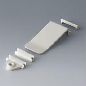 B1706001 / Kit de fijación/abrochado - ASA (UL 94 HB) - traffic white RAL 9016