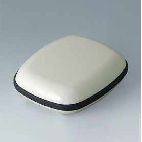 B1604117 / BODY-CASE M: sin hendidura - ASA (UL 94 HB) - traffic white RAL 9016 - 50x41x16mm - IP 65