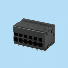 BC0177-31XX / Front Entry Screwless PCB terminal block - 3.50 / 5.08 / 6.35 mm