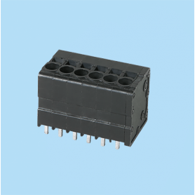 BC0177-33XX / Front Entry Screwless PCB terminal block - 3.50 / 5.08 / 6.35 mm