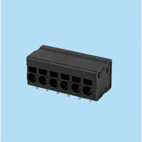 BC0177-51XX / Front Entry Screwless PCB terminal block - 3.50 / 5.08 / 6.35 mm