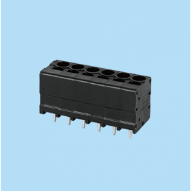 BC0177-53XX / Front Entry Screwless PCB terminal block - 3.50 / 5.08 / 6.35 mm