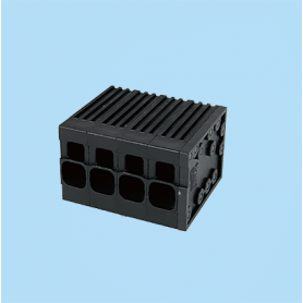 BC0177-76XX / Front Entry Screwless PCB terminal block - 6.35 mm