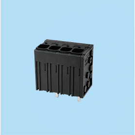 BC0177-78XX / Front Entry Screwless PCB terminal block - 6.35 mm