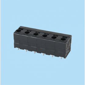 BC0177-53XXP3 / Front Entry Screwless PCB terminal block - 3.50 / 5.08 / 6.35 mm