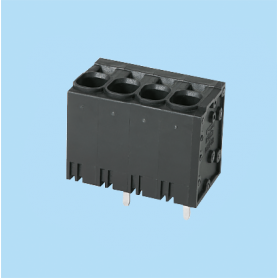 BC0177-88XX / Front Entry Screwless PCB terminal block - 3.50 / 5.08 / 6.35 mm