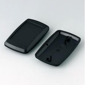 B9006806 / MINITEC: Parte inferior y superior EL - PMMA (IR) (UL 94 HB) - black RAL 9005 - 78x48x20mm