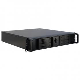 "AA-2U-0001/00 / Chasis PC industrial 2U/19"" para montaje placas Mini-ITX / Micro-ATX"