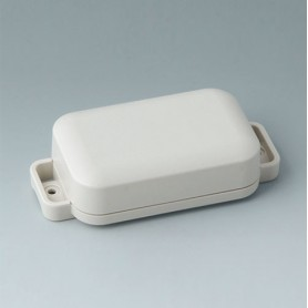 C3204207 / EASYTEC 80 - ASA+PC-FR (UL 94 V-0) - off-white RAL 9002 - 101x50x26mm - IP 65 opt. - IP 40
