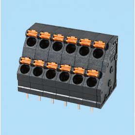 BC0152-02-XX / Screwless PCB PID terminal block  - 5.00 mm
