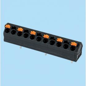 BC0152-41-XX / Screwless PCB PID terminal block  - 5.00 mm