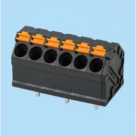 BC0153-01-XX / Screwless PCB PID terminal block  - 5.00 mm