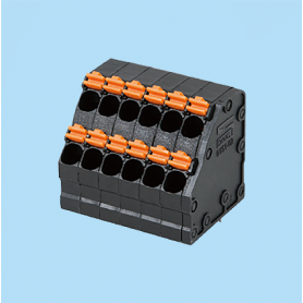 BC0151-02XX / Screwless PCB PID terminal block - 3.50 mm