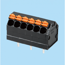 BC0141-01-XX / Screwless PCB PID terminal block - 3.81 mm