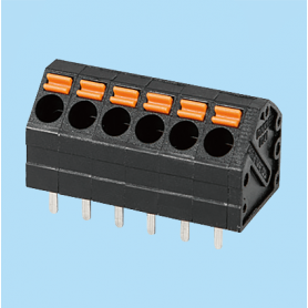 BC0141-22-XX / Screwless PCB PID terminal block - 3.81 mm
