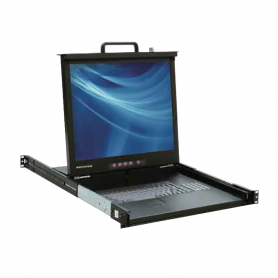 "DC1_0-0002 | Consola MODULAR KVM 15"" - 17"" - 19"" (& 19"" wide-screen) para montaje en Rack (LCD console with modular KVM switch)"