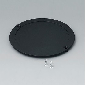 B5011859 / Tapa para compartimento de pilas - ABS (UL 94 HB) - black RAL 9005