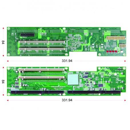 PBPE-06V464 / Backplanes PICMG1.3 Server grade