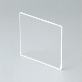 B6112331 / Panel frontal - Vidrio acrílico - transparent - 43,6x43,6x2mm