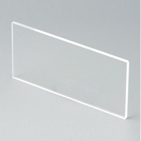 B6121331 / Panel frontal - Vidrio acrílico - transparent - 67,7x31,6x2mm